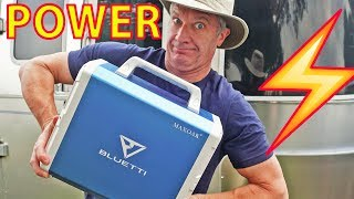 "REVIEW: Maxoak ""Bluetti"" ULTIMATE Lithium/Solar Power Supply - for RV Boondocking (CPAP, TV, etc.)"