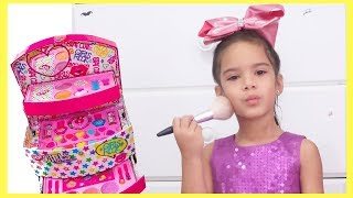 Sam Plays with Make up for Birthday Party | Funny Video for Kids