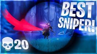 WORLDS BEST SNIPER?! SOLO 20K Game - Fortnite