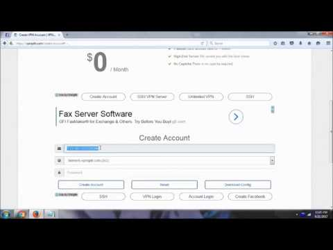 How to create 1 month SSH VPN account for Free and easy June 2017