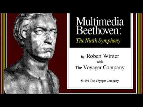 Microsoft Multimedia Beethoven: The Ninth Symphony CD-ROM (1992)