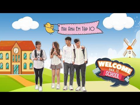 TUỔI HỌC TRÒ | Hai Anh Em - TẬP 10 FULL | Phim Hài Học Sinh Hay Nhất Gãy TV