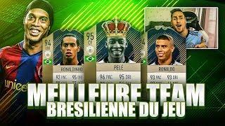 FIFA 18 - LA MEILLEURE TEAM BRESILIENNE DE FUT 18 !!!