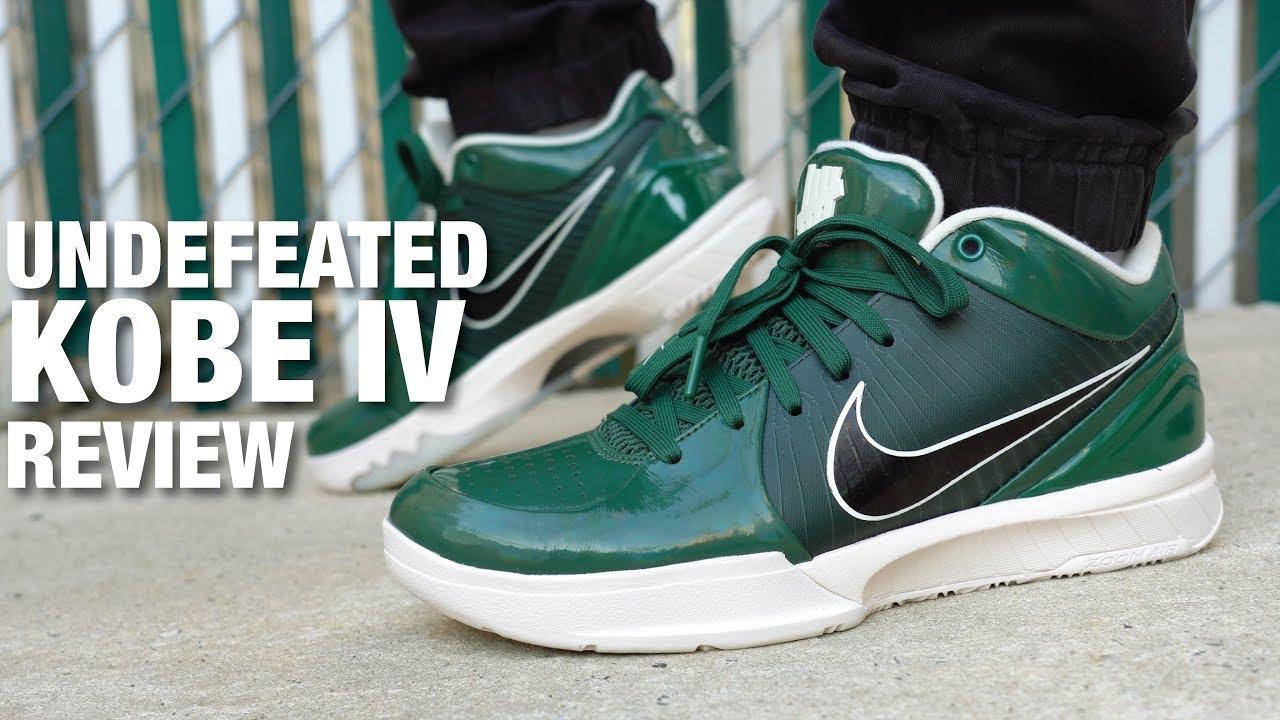 UNDEFEATED x Nike KOBE 4 Protro