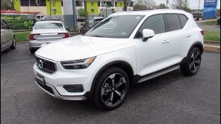 2019 Volvo XC40 Inscription T5 AWD Walkaround, Start up, Tour and Overview