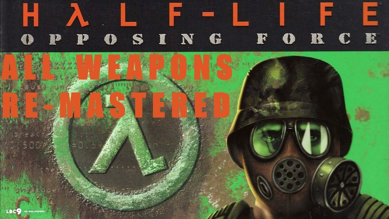 Download Half-Life Opposing Force All weapons remastered