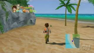 Lost in Blue: Shipwrecked! Nintendo Wii Gameplay - Beach