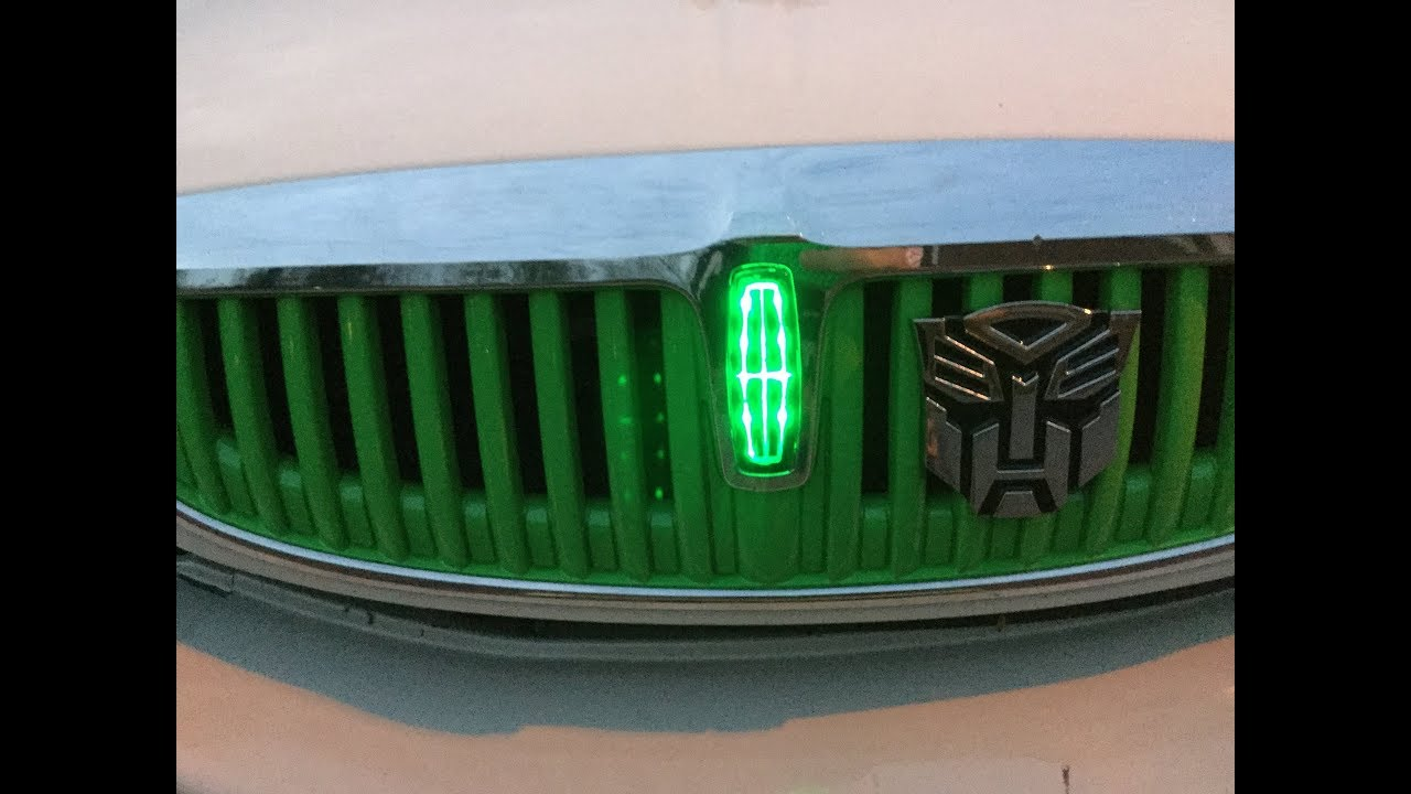 200006 Lincoln Ls DIY LED Front Emblem  YouTube