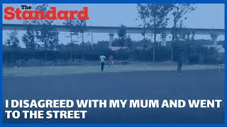 Former street boy narrates how rampant quarrels from his mother made him ran away from home