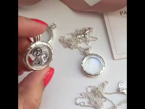colgante locket pandora