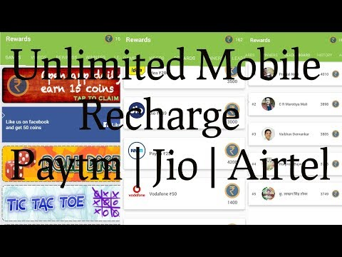 Rewards - Earn Free Recharge & Gift Cards  Unlimited Recharges   appgamer