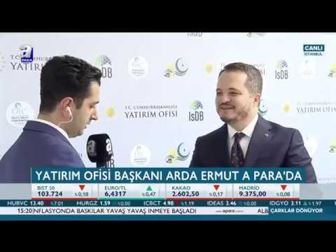 Cumhurbaşkanlığı Yatırım Ofisi Başkanı Arda Ermut (Özel Röportaj)