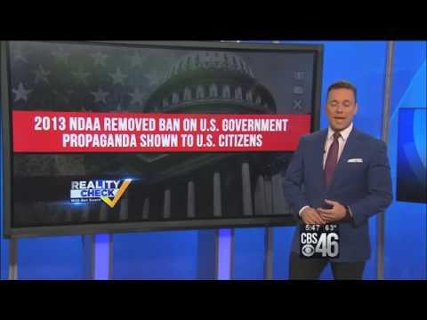 Reality Check: New Law To Allow U.S. Gov  to Fund Propaganda Toward U.S.  Public
