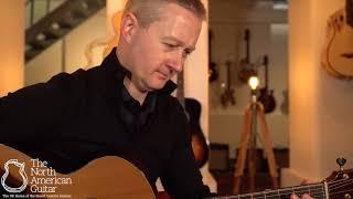 Michaud Made J R Acoustic Guitar, Panama Rosewood & Sinker Cedar Played By Stuart Ryan (Part Two)
