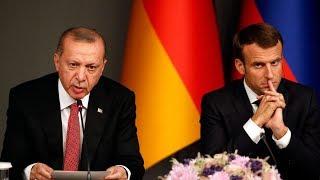 Эрдоган жестко ответил Макрону на критику НАТО