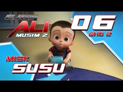 Ejen Ali - Musim 2 (EP06) - Misi : SUSU [Bahagian 2]