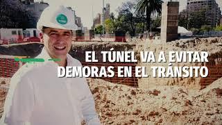 Avanza la construcción del tunel de Plaza España
