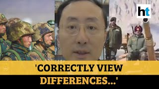 Watch: Chinese envoy's message amid border tension with India
