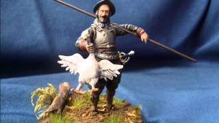 "Hecker & Goros Pikeman ""The Marauder"" Thirty Years´ War in 54mm scale"
