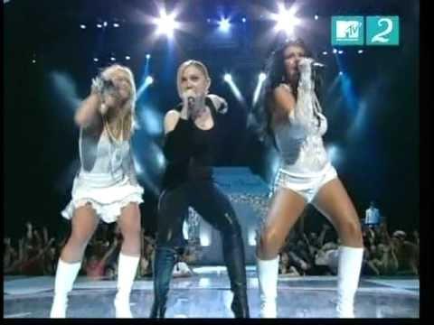 Madonna - Like a Virgin/Hollywood (MTV VMA's 2003)