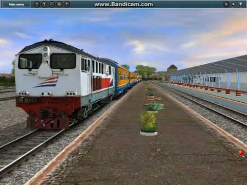 Trainz Simulator Indonesia : Lihat Kereta Api Sore Hari ...