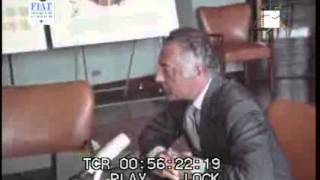 Intervista della Tv Olandese all'avv  Gianni Agnelli