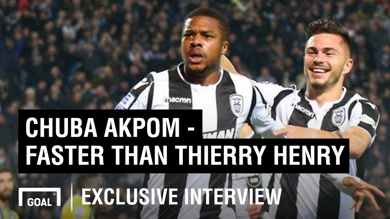 092c57378 Chuba Akpom exclusive: New life in Greece, breaking Thierry Henry's ...