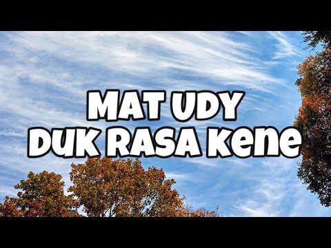 Mat Udy - Duk Rasa Kene/Jenayah Cinta
