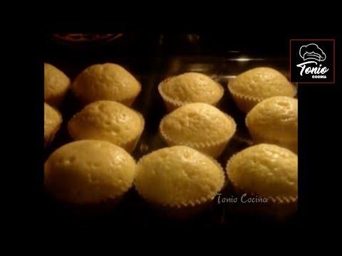 Receta magdalenas caseras de la abuela en 12 minutos for Cocina casera de la abuela