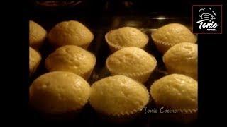 Como hacer magdalenas caseras de la abuela - Tonio Cocina