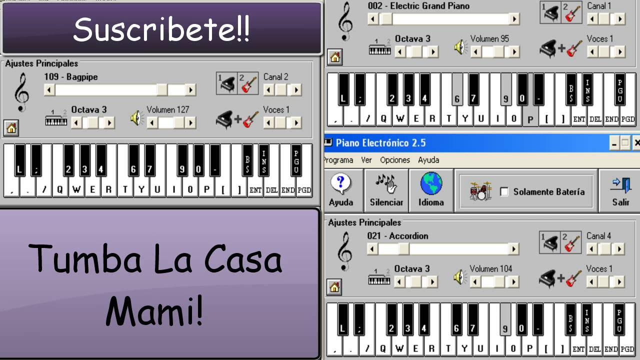 tumba la casaversion cumbia alee dj piano electronico