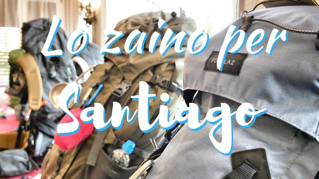 Zaino per il Cammino di Santiago  come sceglierlo  - YouTube fc636bf1ee2
