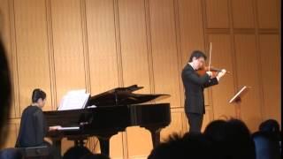 タイスの瞑想曲(マスネ)2014.9.14山口豊ヴァイオリンリサイタル