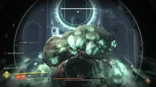 Destiny 2 Last Wish Morgeth MOUNTAIN TOP