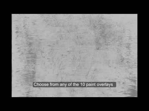 Grungy Paint Overlay