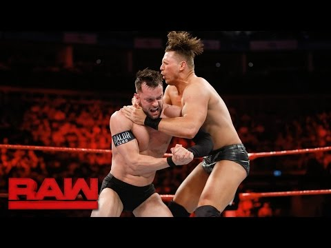 Finn Bálor vs. The Miz: Raw, May 8, 2017
