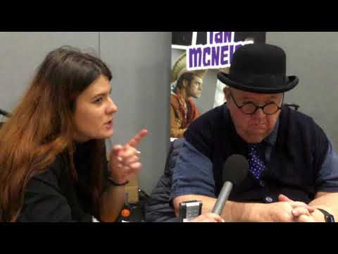 In conversation with Ian McNeice at Liverpool Comic Con 2018