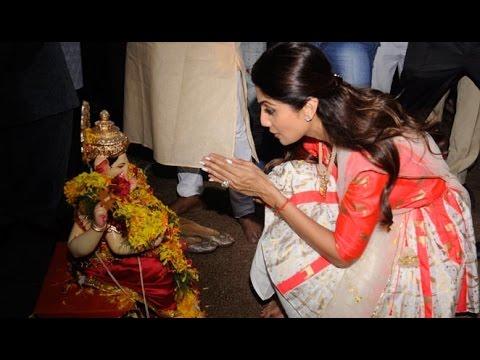 Shilpa Shetty's Ganpati Visarjan 2016
