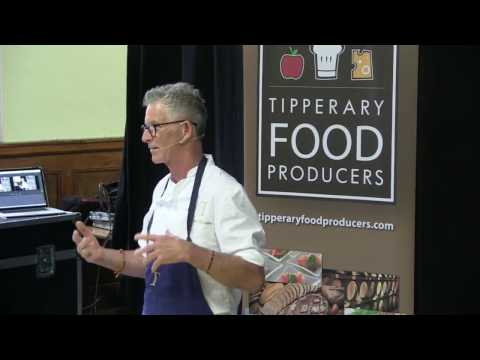 Kevin Thornton's cooking demonstration on how to create The Tipperary Breakfast