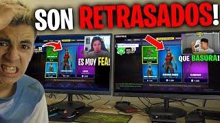 Reaccioné a YouTubers Famosos NO COMPRANDO la RENEGADA...😫(Muy Doloroso!)