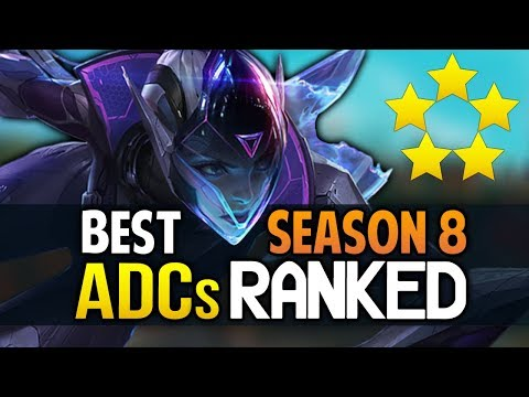 Best Season 8 ADCs | All ADCs RANKED for Season 8 (League of Legends)