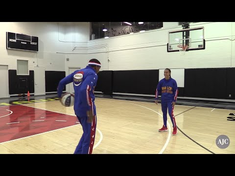 VIDEO - The Harlem Globetrotters are coming to town!