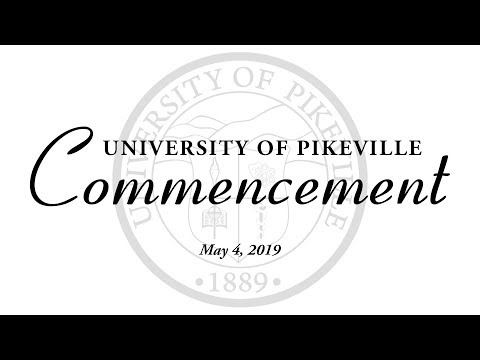 2019 University of Pikeville Commencement Ceremony