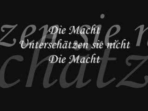 Terminal Choice - Die Macht (lyrics)