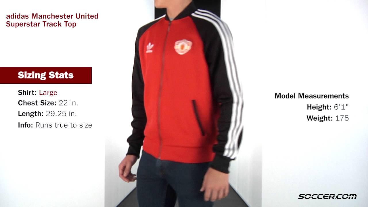 adidas originals manchester united track top