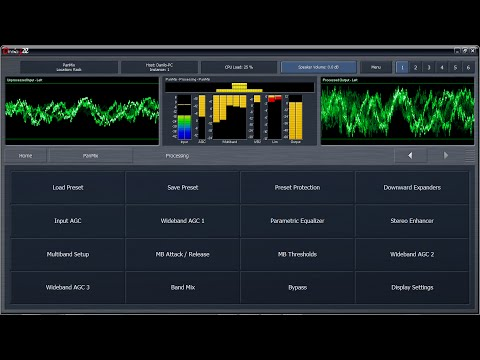 Demostração Processador de Áudio OMNIA 9 XE