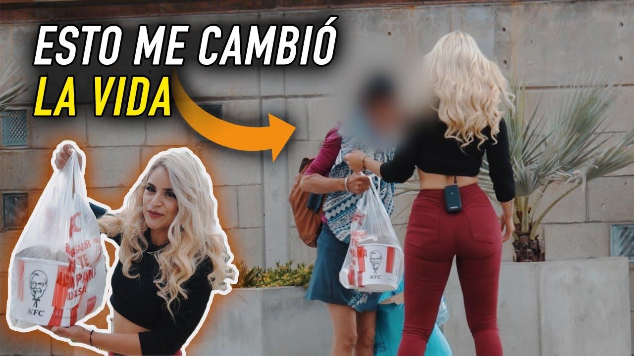 CADENA DE FAVORES - ELLA REACCIONÓ ASÍ | Amy Diaz