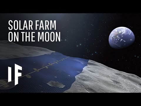 What If We Covered the Moon With Solar Panels?