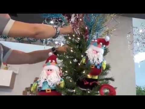 Taller de decoraci n en casa febus c mo decorar tu rbol de navidad youtube - Como decorar mi arbol de navidad ...