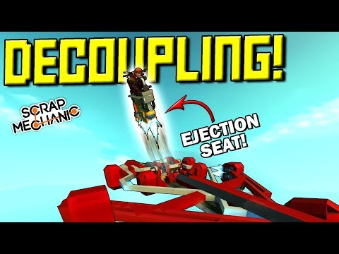 BOMB DECOUPLING, 3-STAGE ROCKET, EJECTION SEAT! [Spud Gun Up